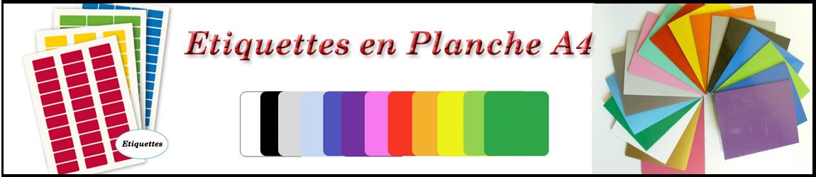 Etiquettes en planche tunisie
