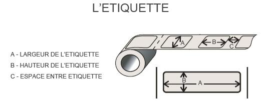 Rouleau etiquettes tunisie