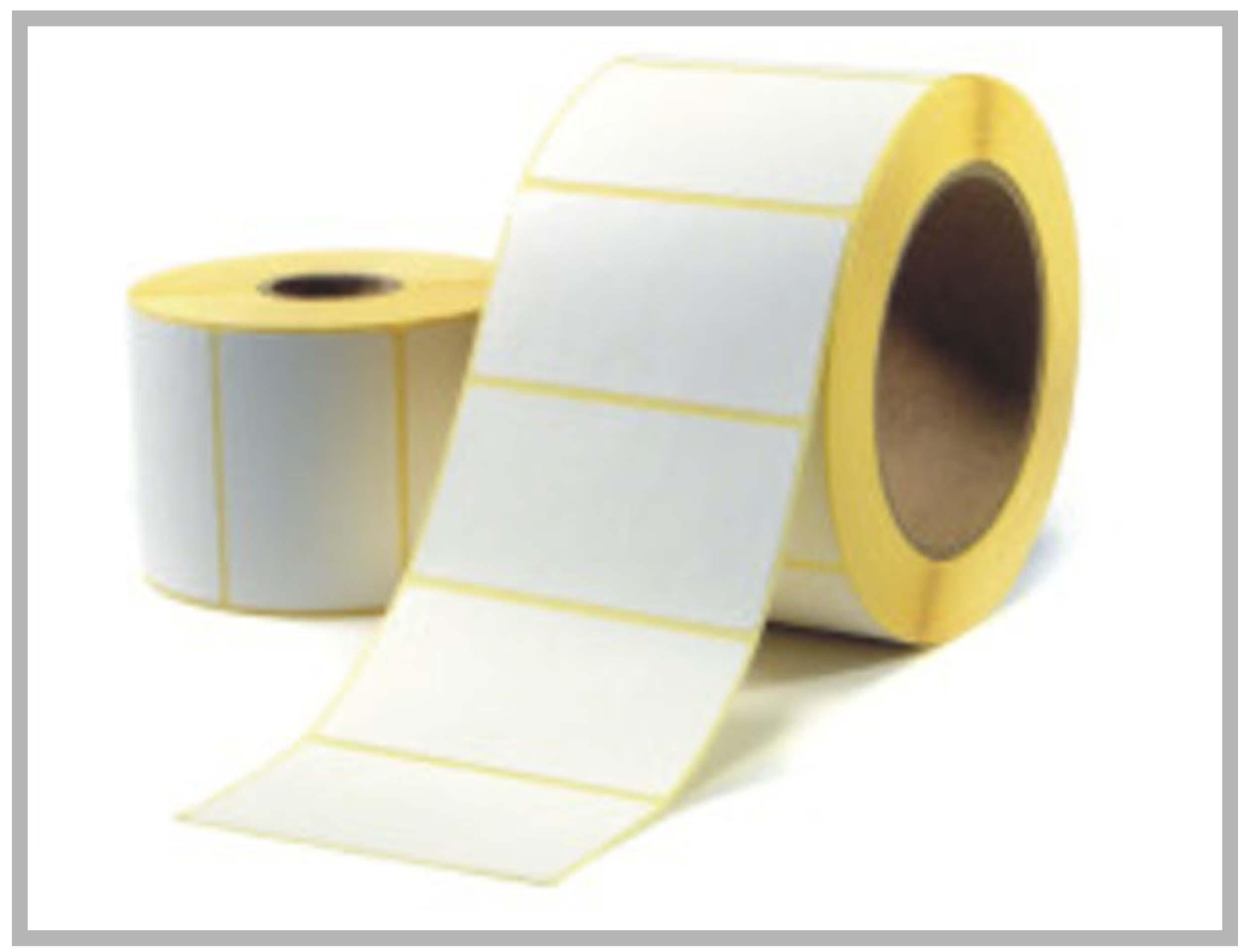 Etiquettes thermique ou blanc Mat