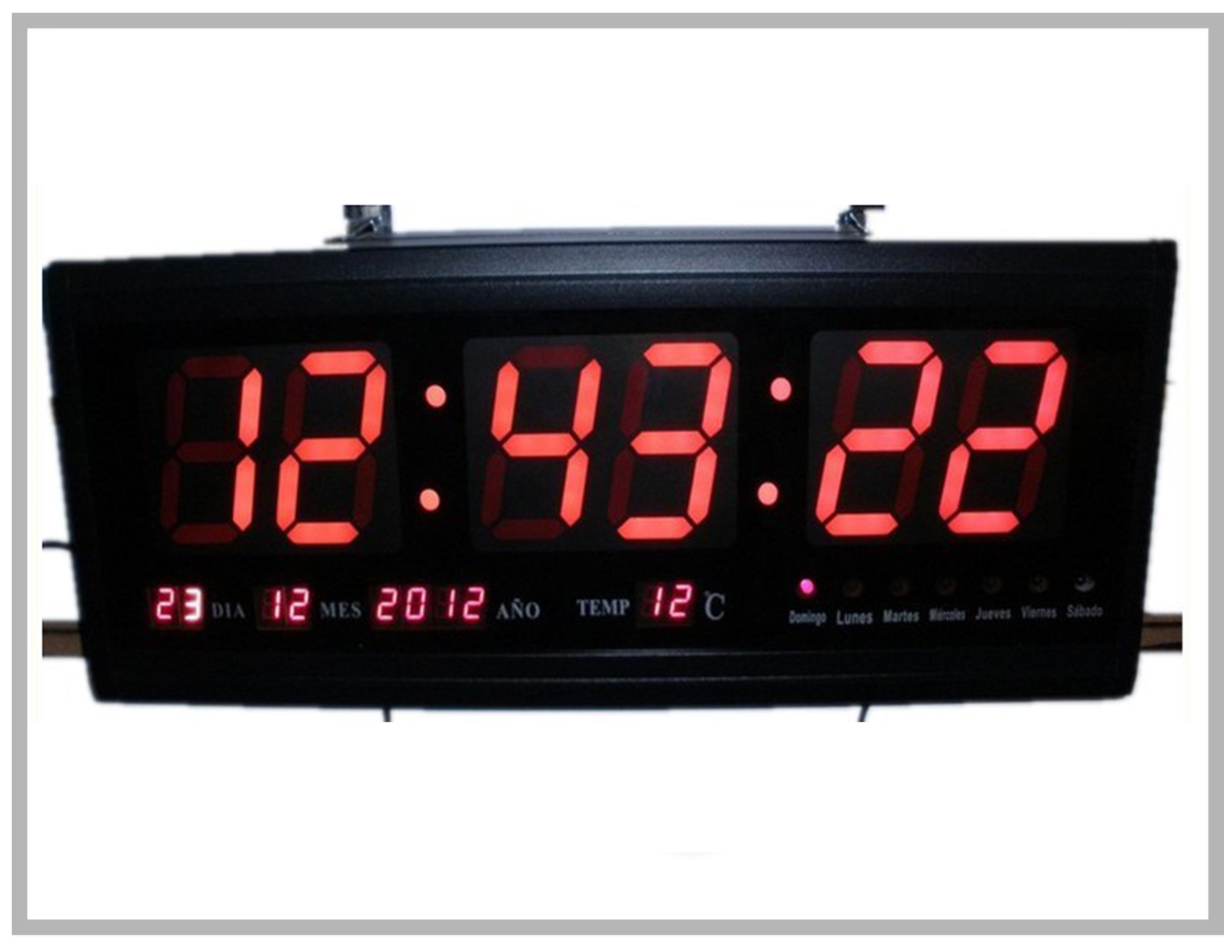 Horloge Murale LED