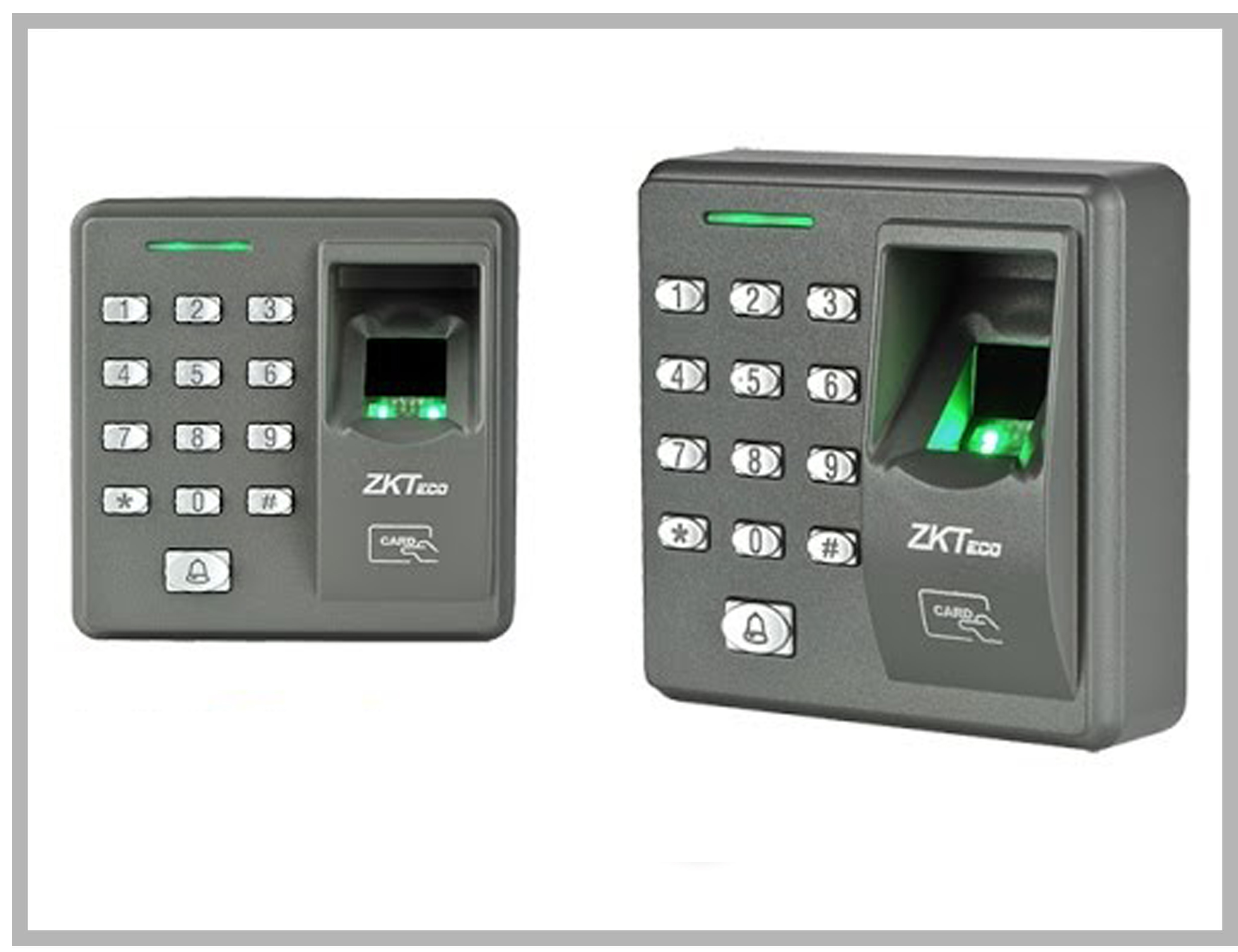 Pointeuse Fingerprint ZK-X7